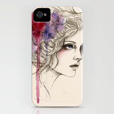 Water Flowers iPhone (4, 4s) Slim Case