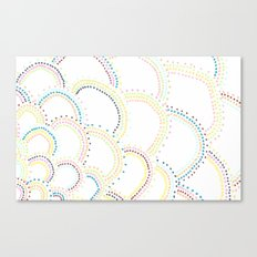 Just Some Dots Canvas Print