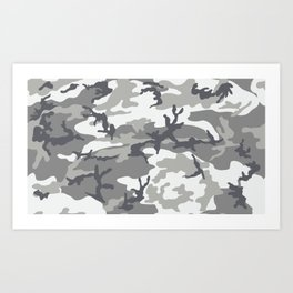 Winter Woodland Art Print