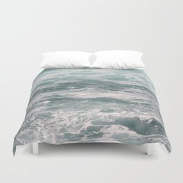 Blown Spume and Windrift Duvet Cover