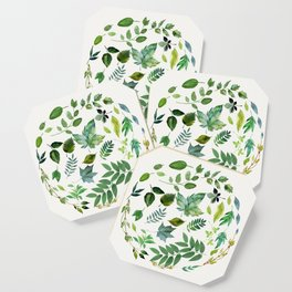 Circle of Leaves Coaster
