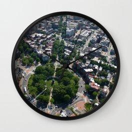 Logan Circle Wall Clock