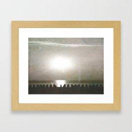 Lazy Summer Sunrise Framed Art Print