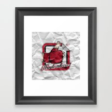 Hadouken! Framed Art Print