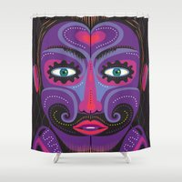clown Shower Curtains featuring Clown by Charles Harker