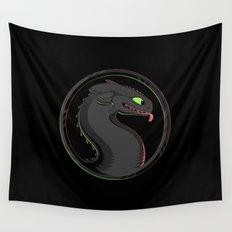Dragon Kombat Wall Tapestry