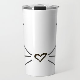 Cute Cat #society6 #decor #buyart #artprint Travel Mug