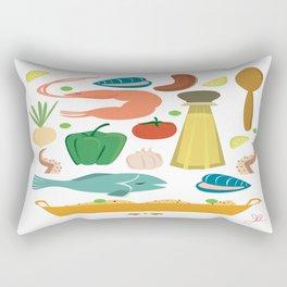 Paella Rectangular Pillow