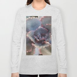 Crystallized Purple Succulent Long Sleeve T-shirt