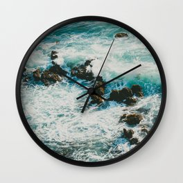 Palos Verdes Surf Wall Clock