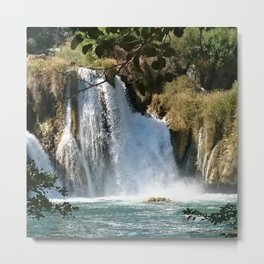 Waterfalls KRK, Croatia 2 Metal Print