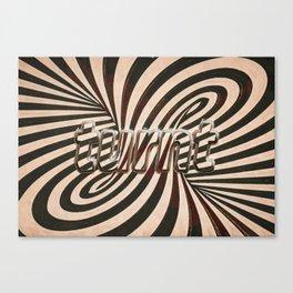 turnt Canvas Print