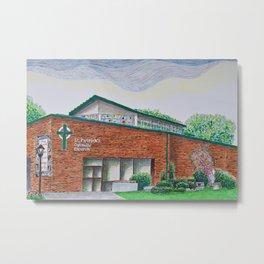 St. Patrick's Church Metal Print