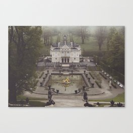 King Ludwig's little loft Canvas Print