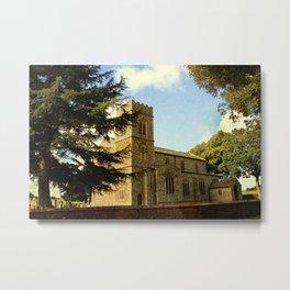 Edgefield Church. Metal Print