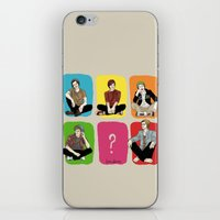 "band iPhone & iPod Skins featuring "" Rainbow band "" by Karu Kara"
