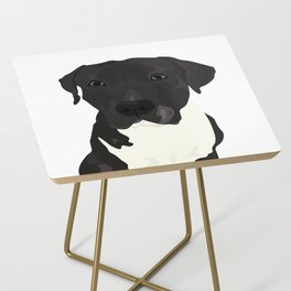 Atticus the Pit Bull Side Table