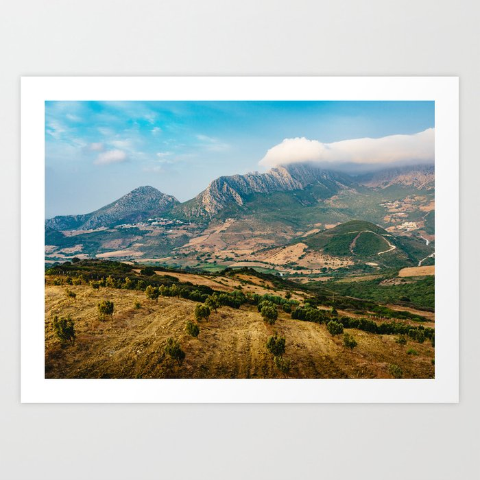 Jebel Musa (Morocco) Art Print