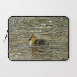 Gosling Swimming 2 Laptop Sleeve