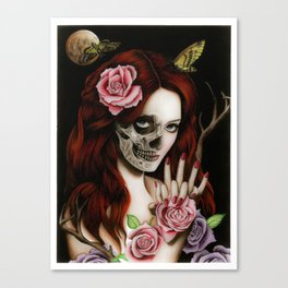 Goodnight Girl Canvas Print