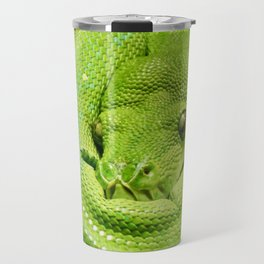 Green Tree Python Travel Mug