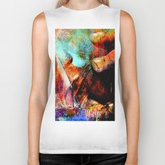 La Barca ( collaboration with the talented artist Agostino Lo coco) Biker Tank