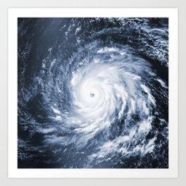 Hurricane Igor Art Print