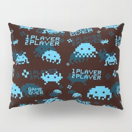 Invaders Pattern Pillow Sham