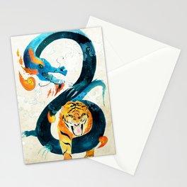 Dragon & Tiger Stationery Cards