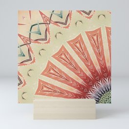 Mandala fan Mini Art Print