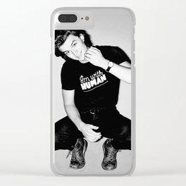 Steve Harington Clear iPhone Case