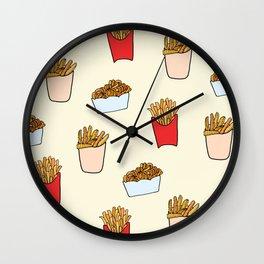 Gimme Fries Wall Clock