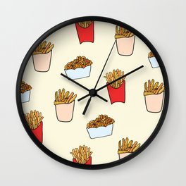 Gimme Fries Wall Clock