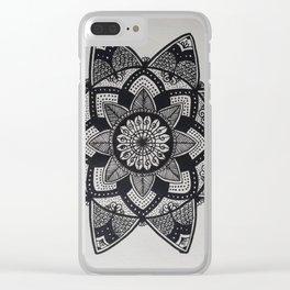 Mandala Magic Clear iPhone Case