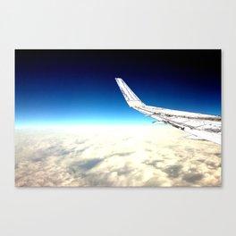 paper plane. Canvas Print