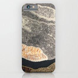 Elegant Black and Gray Pattern iPhone Case