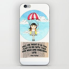 One Precious Life iPhone Skin