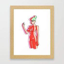 Outer Body Framed Art Print