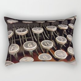 Up to the Typing Keys Rectangular Pillow