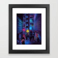 Shibuya Nights / Bouncing Lights Framed Art Print