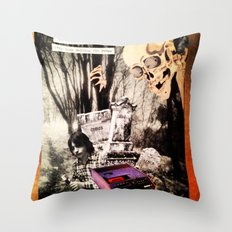 Brooks Stories Throw Pillow