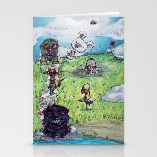 Only Dreams like Today Stationery Cards