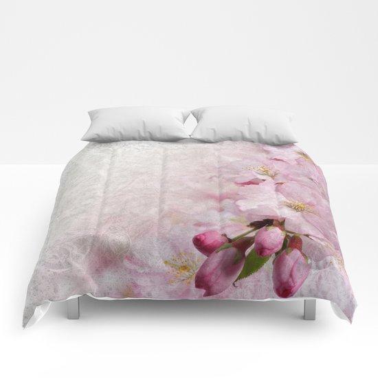 Sakura Blossoms 04 Comforters