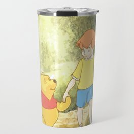 Christopher and Pooh Bear Travel Mug