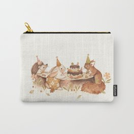 Woodland Party Carry-All Pouch