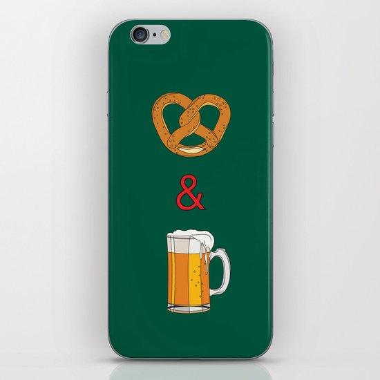 Bretzels (Pretzels) and Beer iPhone & iPod Skin