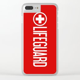 Lifeguard Clear iPhone Case
