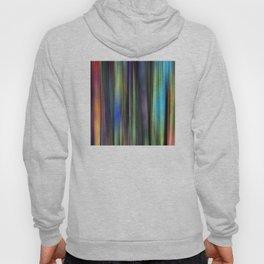 Rainbow: Blurred Tapestry Design Hoody