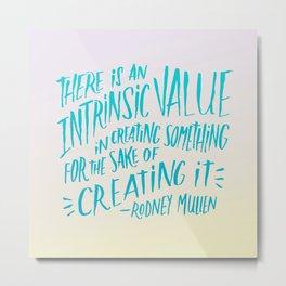 Rodney Mullen on Creating Metal Print