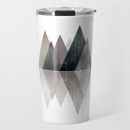 Modern Scandinavian Mountain Travel Mug